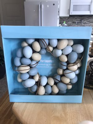 Easter egg wreath for Sale in Snohomish, WA