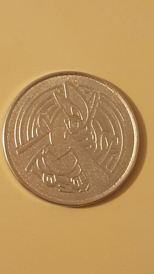 👣 Rare LUGIA Pokemon Metallic Coin 👣 for Sale in Falls Church, VA