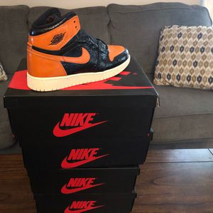 Nike air Jordan 1 shattered backboard for Sale in Bowie, MD