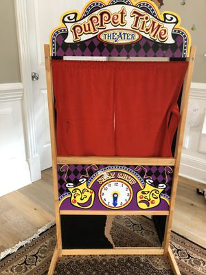 Melissa & Doug puppet theatre for Sale in Los Angeles, CA