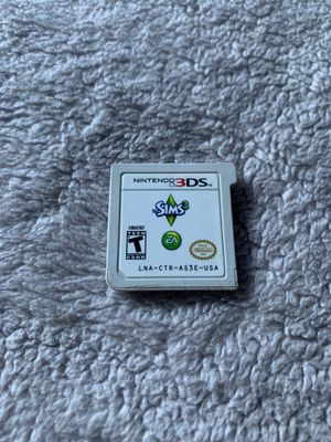 The sims 3 for Nintendo 3ds for Sale in Tukwila, WA