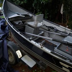 2002 16 Hyde Drift Boat Aluminum for Sale in Duvall,  WA