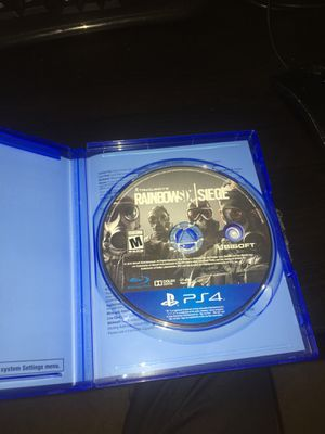 rainbow six siege for ps4 for Sale in Poway, CA