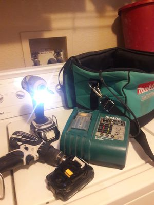 Makita set for Sale in Bakersfield, CA