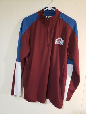 Men's medium Colorado Avalanche 100% polyester for Sale in Arvada, CO
