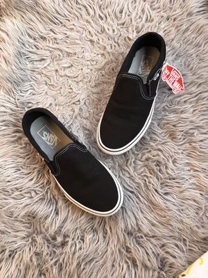 Black platform slip on vans for Sale in Chicago, IL
