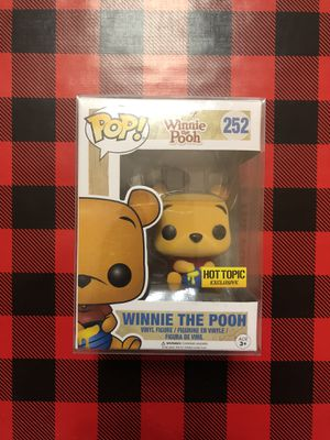 Winnie The Pooh Flocked Hot Topic Exclusive Funko POP! #252 Disney for Sale in Milpitas, CA