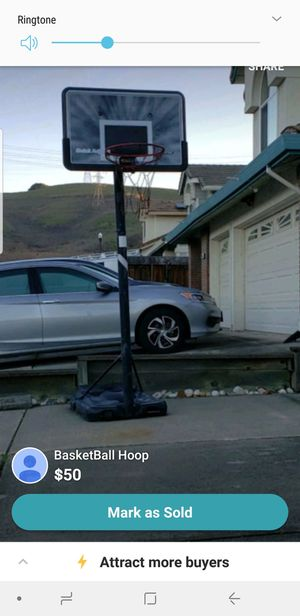 Outdoor Basketball hoop for Sale in Pinole, CA