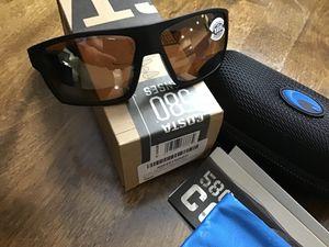 Brand New Authentic Costa Bloke Polarized Sunglasses 580 Glass Lenses for Sale in Miami, FL