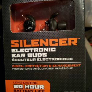NIB Silencer Electronic Ear Buds by Walkers for Sale in Hanover, MD