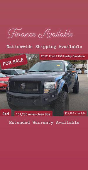 2012 Ford F150 Harley Davidson 4x4 flex fuel for Sale in Anaheim, CA