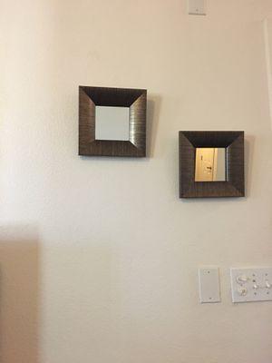 2 beautiful wall mirror decor for Sale in Riverside, CA