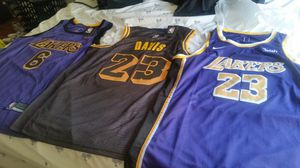 New Lakers Anthony Davis Jersey for Sale in Rancho Cucamonga, CA