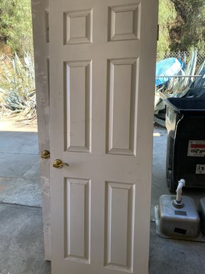 Interior 6 panel Doors with hardware Eleven in excellent condition for Sale in Newhall, CA