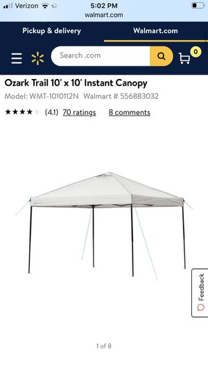 Ozark Trail Portable Canopy (new) for Sale in Duvall, WA