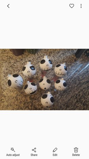 Jack Skellington Head Ornaments for Sale in San Diego, CA