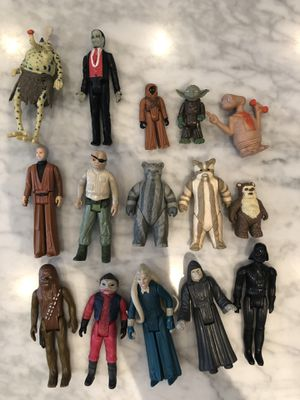 Star Wars Action Figures for Sale in Naperville, IL