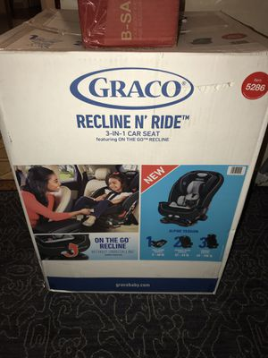 Nueva Silla para Carro Graco/ brand new Graco Car seat. From 5-100lbs. for Sale in San Francisco, CA