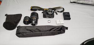 Nikon d3400 bundle for Sale in Lutz, FL
