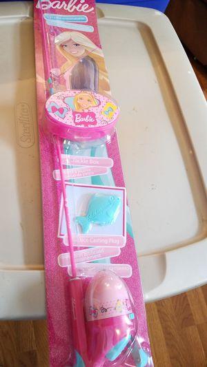 Brand new barbie fishing rod for Sale in Trenton, NJ