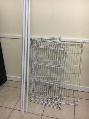 5 tire shelf 6ft for Sale in Germantown, MD