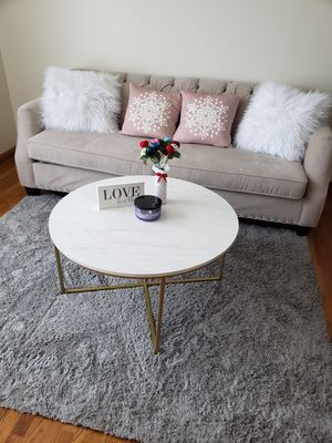 Sofa, coffee table, and rug for sale for Sale in Union City, NJ