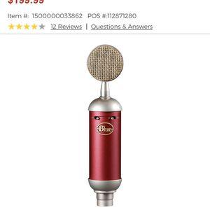 Shield//Blue Mic//Focusrite&m-audio Air Interface//Jbl Speaker//Stand//Filter//Studio Headphones for Sale in Elkton, MD