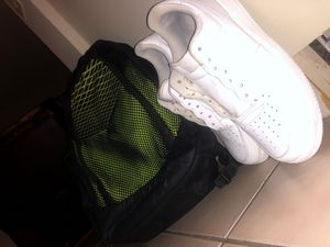 Nike backpack and AF1'S size 9 for Sale in Miramar, FL