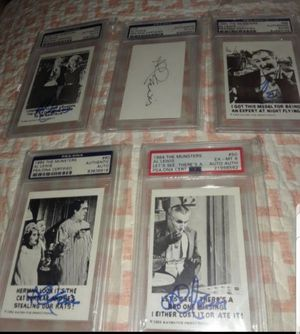 1964 THE MUNSTER PSA GRADED CARD AUTOGRAPH AL LEWIS for Sale in Miami, FL