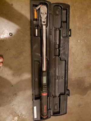 Snap on 1/2 torque wrench for Sale in Murfreesboro, TN