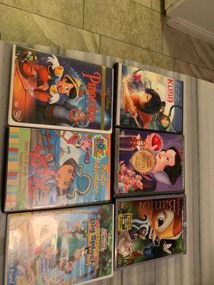 DVD movies kids Disney 6 movies for Sale in Los Angeles, CA