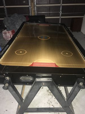 Air hockey and pool table for Sale in El Paso, TX