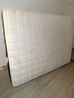 Queen mattress barely used/headboard for Sale in Los Angeles, CA