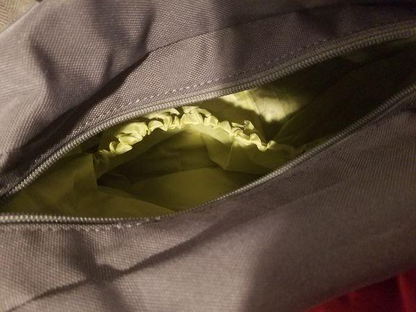 JJ cole diaper bag and accessories