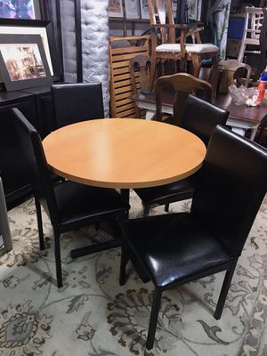 Home/Office Dining Table and Four New Chairs for Sale in Wichita, KS