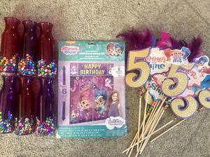 Shimmer Shine Birthday Supplies for Sale in Carson, CA