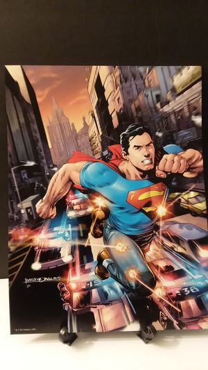 DC Comics Superman Poster for Sale in Charlotte, NC