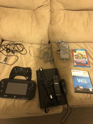 Nintendo Wii U + games collection for Sale in Gulfport, MS