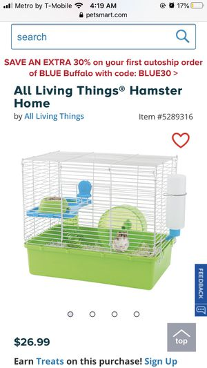 HAMSTER REHOMING for Sale in Harrisburg, PA