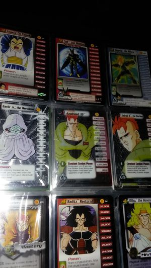 Dragonball Z Collectible Card Game Lot for Sale in Seattle, WA