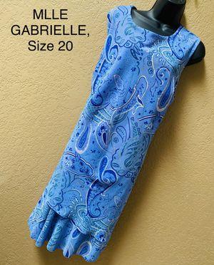 MLLE GABRIELLE, Lilac Sleeveless Dress, Size 20 for Sale in Phoenix, AZ