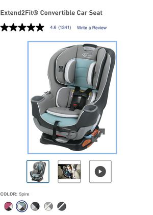 Today only! Must pickup today! Brand New Graco Convertible Car Seat!! for Sale in Natrona Heights, PA