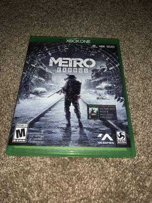 Metro Exodus Xbox One for Sale in San Antonio, TX