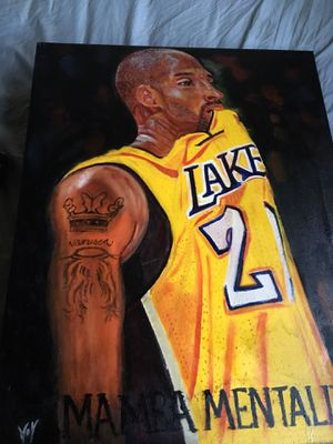 Kobe oil painting by hand for Sale in Whittier, CA
