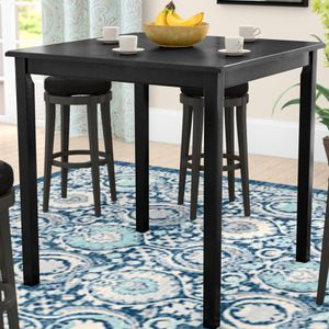 High wooden table with 4 chairs for Sale in Washington, DC