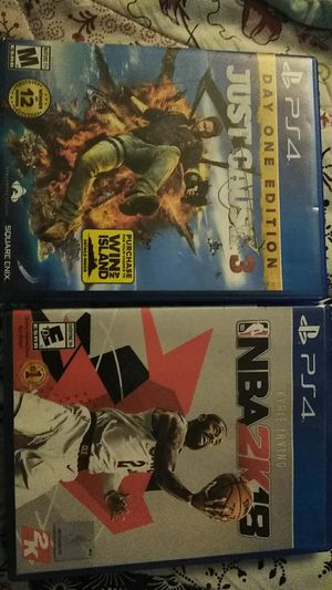 Ps4 games for Sale in BVL, FL