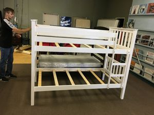 Twin size bunk bed frame for Sale in Peoria, AZ