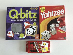 3 board games for $20 for Sale in Manassas, VA