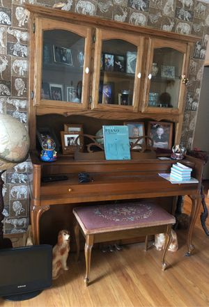 Acrosonic piano with shelving for Sale in San Pablo, CA