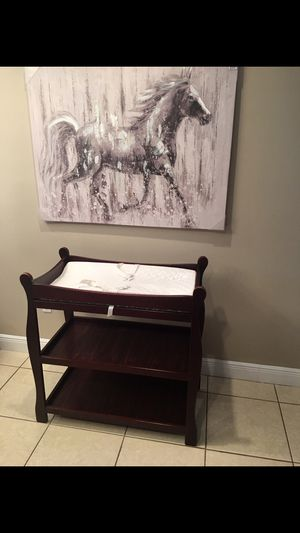 Baby Infant Newborn Changing Table Nursery Diaper Station for Sale in Miami, FL